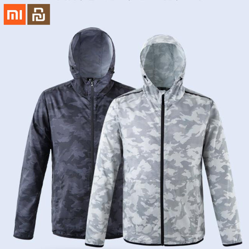 2colors Xiaomi Mijia ULEEMARK Men's Trend Camouflage Quick-drying Jacket For Choose Suit For Men Colorful Smart Home