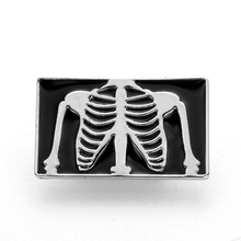 Brooches Pins Jewelry Doctor Enamel-Pin Acessorios Medical Gift Gold-Color Black Women