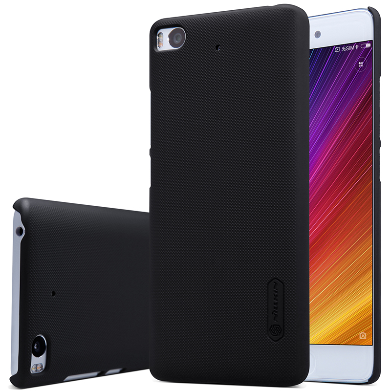 case for xiaomi mi5s phone NILLKIN Frosted PC Plastic back cover with Screen Protector For xiaomi 5s case cover (5.15 inch)