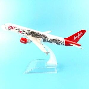 Image 2 - Модель самолета JASON TUTU 16 см, модель самолета Air Asia, аэробус 320, модель самолета 1:400, Литые металлические самолеты, самолеты, игрушка в подарок