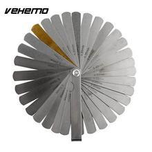 VEHEMO измерительный инструмент, 32 лезвия, измерительный прибор, метрический зазор, наполнитель 0,04-0,88 мм, толщиномер, измерительный инструмент, автомобильные аксессуары