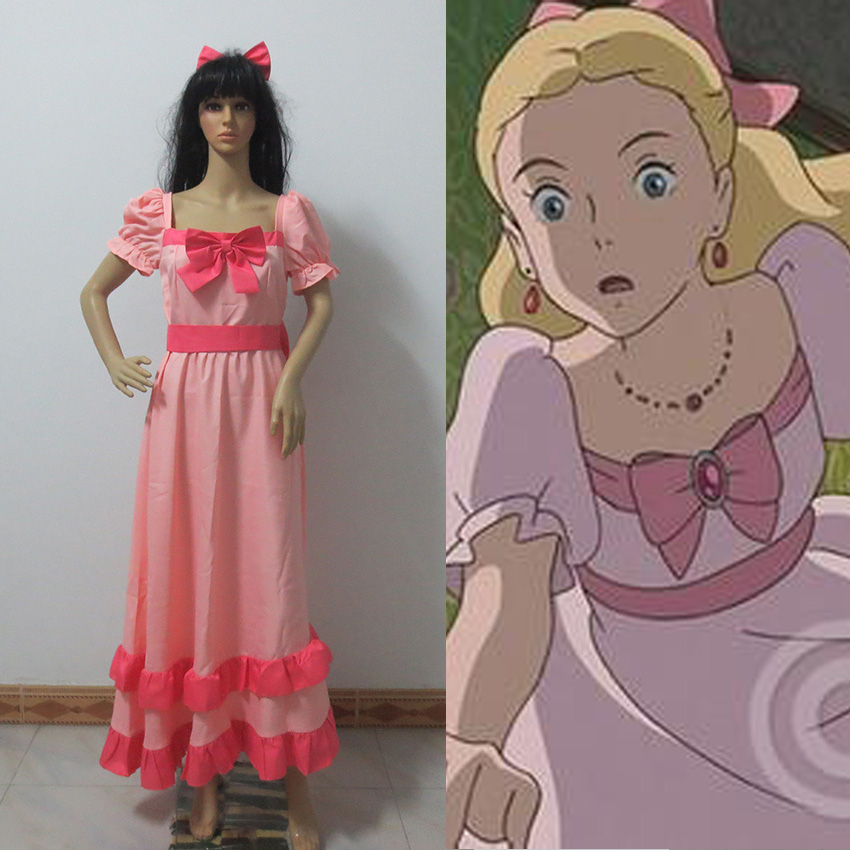 When Marnie Was There Cosplay Costume Dress-in Anime ...