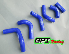 GPI silicone radiator hose FOR HUSQVARNA HVA TE TC 400 450 510 2002-2011 2003 2004 2005 2006 2007 2008 2009 2010 08 09 10 11(China)
