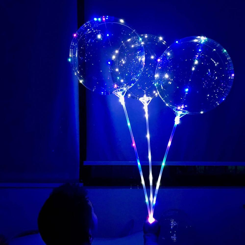 Image 2 - 10/20pcs 20Inch globos Led Balloon helium to inflate balloons wedding birthday party decorations helium balloon ballon mariage-in Ballons & Accessories from Home & Garden