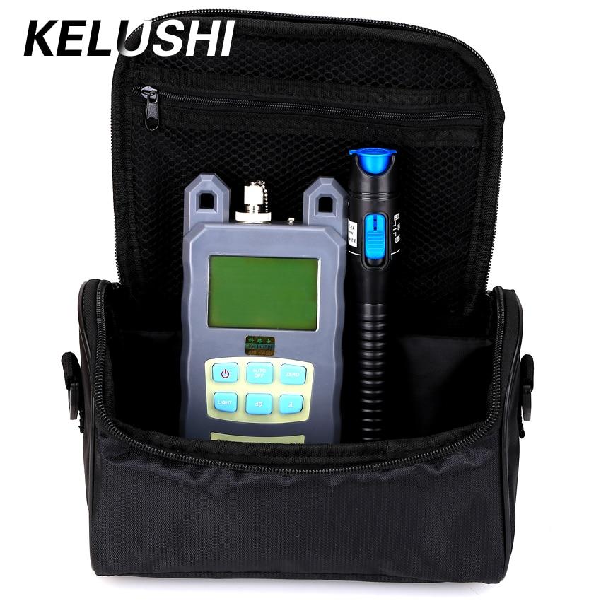 KELUSHI 2 in 1 FTTH Fibre Tool Kit Met Fibre Optical Power Meter + 1 - Communicatie apparatuur