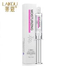 2016 Skin Care LAIKOU Cylinder Hyaluronic Acid Liquid Anti Wrinkle Anti Aging Collagen Essence Whitening Moisturizing Cream 10ml