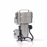 YF 200 Large Capacity Stainless Steel Electric Mill Crusher Grains Powder Grinder Machine Pepper Herb Grinding