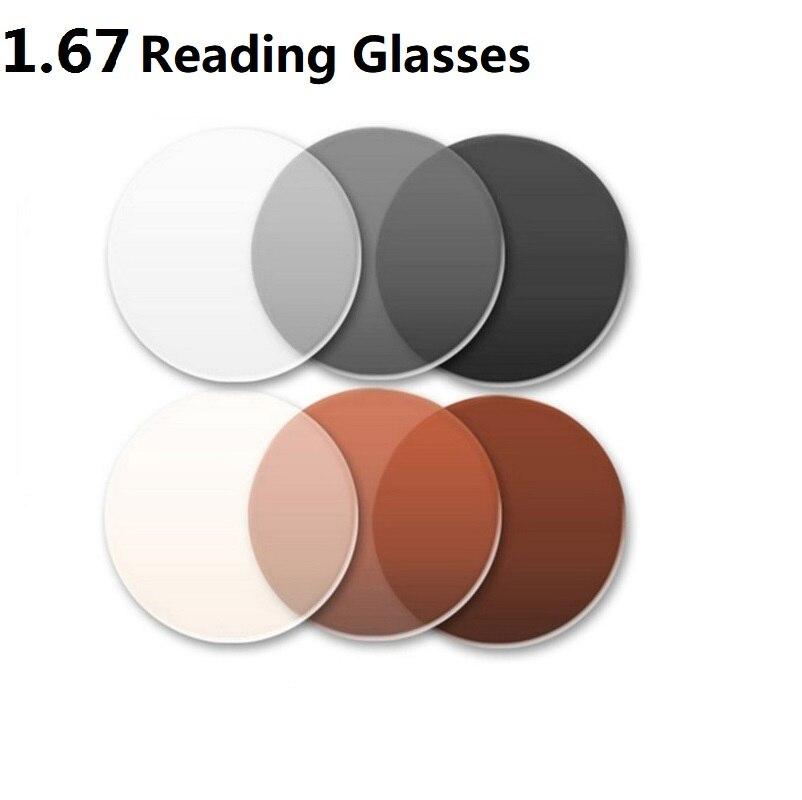 Lesen 1 Brille Für Braun Sonnenbrille Augen Grau Rezept Linsen 67 Photochrome Asphärische Optische Presbyopie Marke anzSFvarq