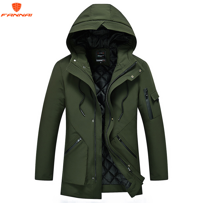 2018 new brand clothing Jackets Winter coat thick warm men down jacket high quality hooded winter jacket men Winter   Parkas   5XL