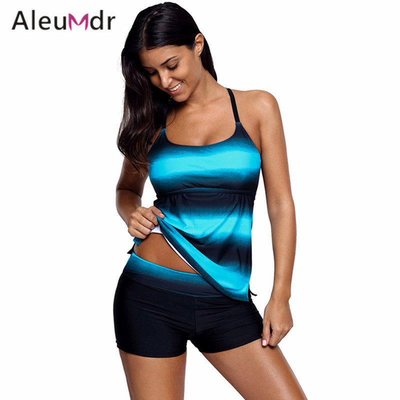 aleumdr bathing suit women 2018 two pieces summer striped