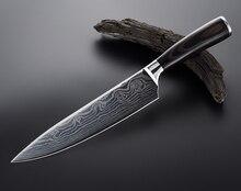 """YAMY y CK 8 """"cuchillo de cocina de acero inoxidable multiusos frutas y vegetales cuchillo Japonés, chef Japonés cuchillo"""