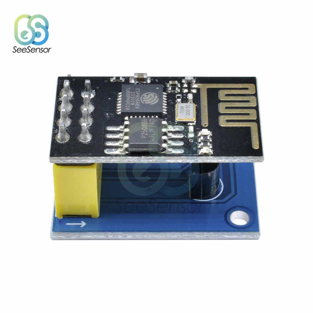 ESP8266 ESP-01 ESP-01S DS18B20 moduł czujnika temperatury esp 8266 Wifi NodeMCU inteligentnego domu IOT DIY zestaw do Arduino
