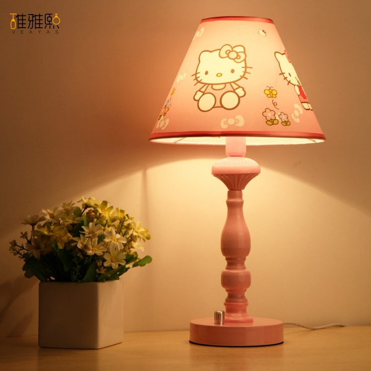 Hello kitty creative girl lighting children lamps and iron ...