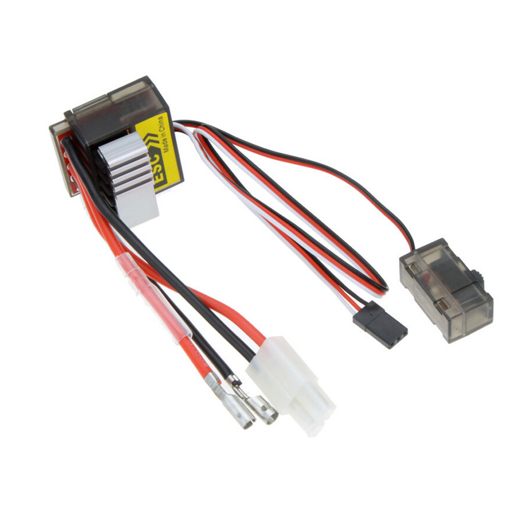 1pcs 320A Brushed ESC Speed Controller /w Reverse for 1/8 1/10 RC Flat/off-road/Monster Truck/Truck Car/Boat Dropship 7 2v 16v high voltage esc 320a brushed speed controller fan fr rc car truck boat 28 319