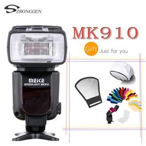 Image 1 - マイクス MK 910 i TTL フラッシュスピードライト 1/8000 s ニコン SB 900 D4S D800 D3000 D3200 D5300 D7100 デジタル一眼レフ mk910 マイクス MK 910