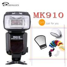 Meike MK 910 i ttl Flaş Speedlite 1/8000 s Nikon SB 900 D4S D800 D3000 D3200 D5300 D7100 DSLR mk910 Meike MK 910