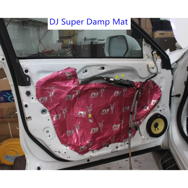 Automobile Doors and floor sound insulation d&ing mat reducing noise material for car sound deadening  sc 1 st  AliExpress.com & Automobile Doors and floor sound insulation damping mat reducing ...
