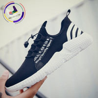 Kailon Addy Brand 2019 Summer New Mesh Breathable Sports Casual Shoes Men's Design Trend Fashion Fly Woven Running Shoes