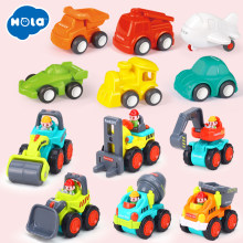 Pull Back Car Toys Car Children Racing Car Baby Mini Cars Cartoon Pull Back Bus Truck Kids Toys For Children(China)