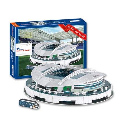 Candice guo 3D puzzle BRICOLAGE jouet de construction en papier modèle Estadio do Dragao Stade de football assembler jeu cadeau d'anniversaire enfant ensemble