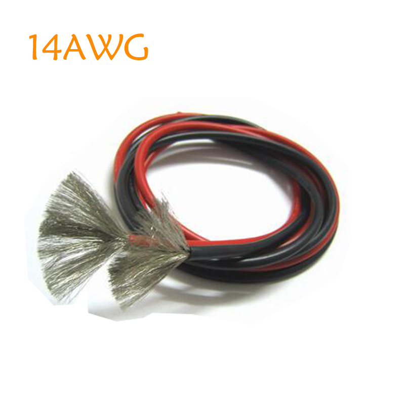 Free Shipping 14 Awg Sr Wires 14awg Silicone Wire 14  Silica Gel Wires Awg14 High Temperature