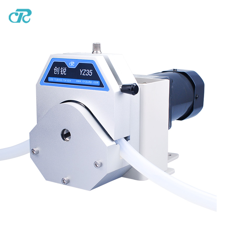 DC 12V&24V OEM compact big effect Peristaltic Pump with Alum pump head прибор для авто oem 3 in1 12v 24v 68050