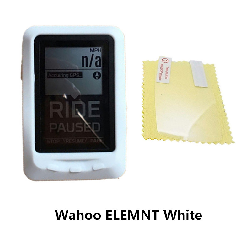 Silicone Case Cover Screen Protector For Wahoo Elemnt Mini GPS Bike Computer UE