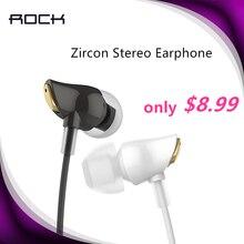 ROCK Bass Sound In-Ear Sport Earphones Zircon Stereo Earphone Hifi Earbuds with