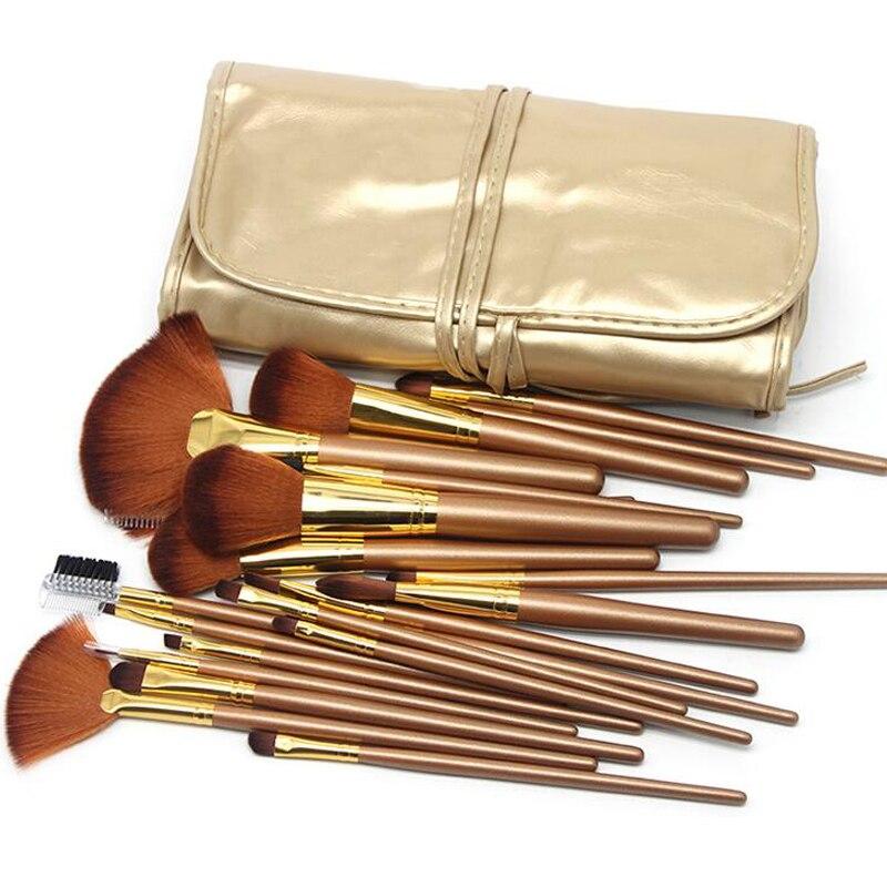 Make Up Brush Kit Concealer Powder Eyeliner Eyebrow Eyeshadow Eyelash Blush Brush Makeup Portable Cosmetic Makeup Brush 21Pieces цена