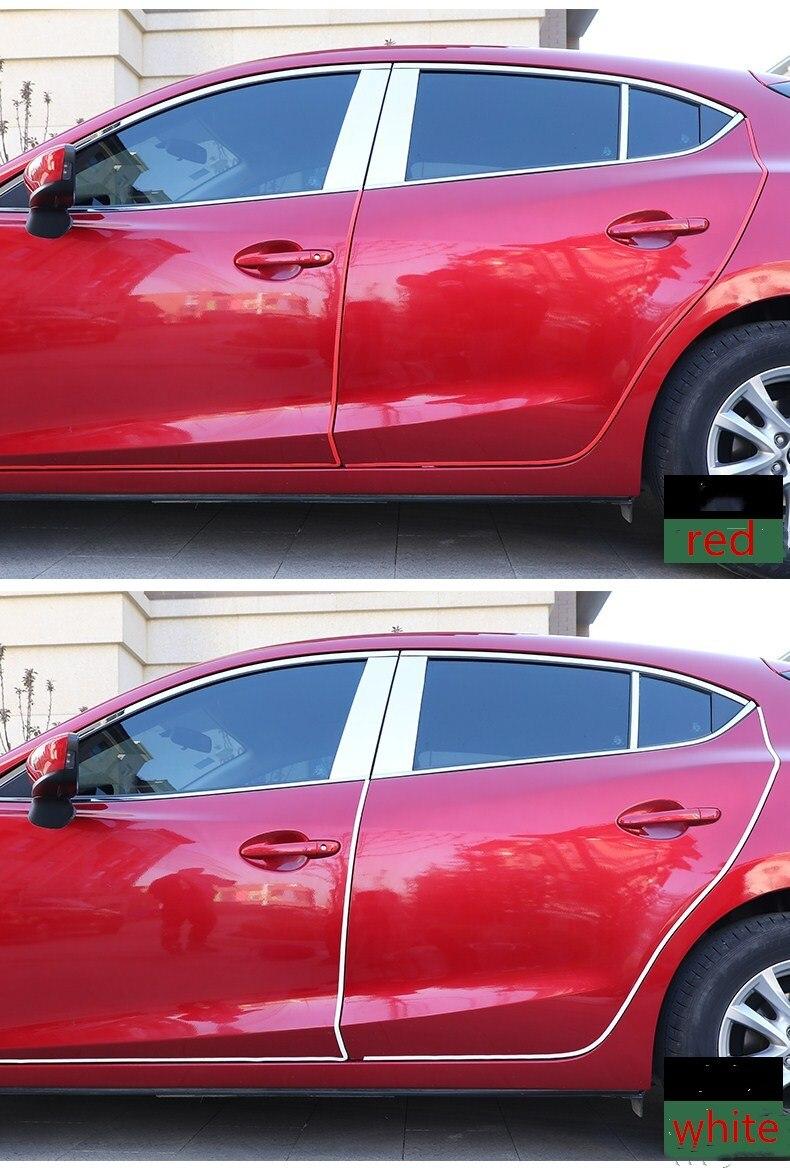 Qirun accessoires de voiture carrosserie plaque de porte bandes protection pour Toyota Land Cruiser LC200 2007-2015
