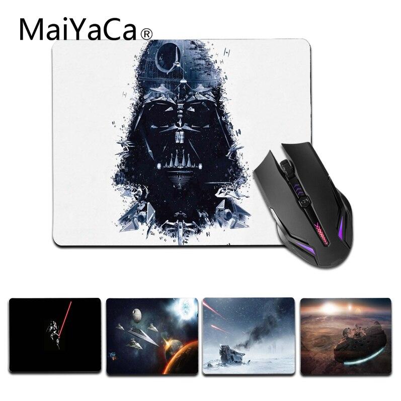 Maiyaca 2018 New Star войны геймер Скорость мыши розничной маленький резиновый коврик Ра ...