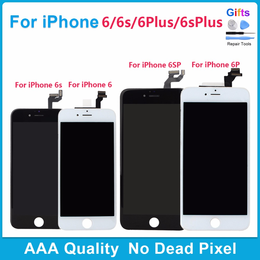 AAA LCD Display Touch Screen Digitizer Assembly Replacement for iPhone 6 7 lcd Touch Screen for iphone 6 S plus LCD Black White AAA LCD Display Touch Screen Digitizer Assembly Replacement for iPhone 6 7 lcd Touch Screen for iphone 6 S plus LCD Black White