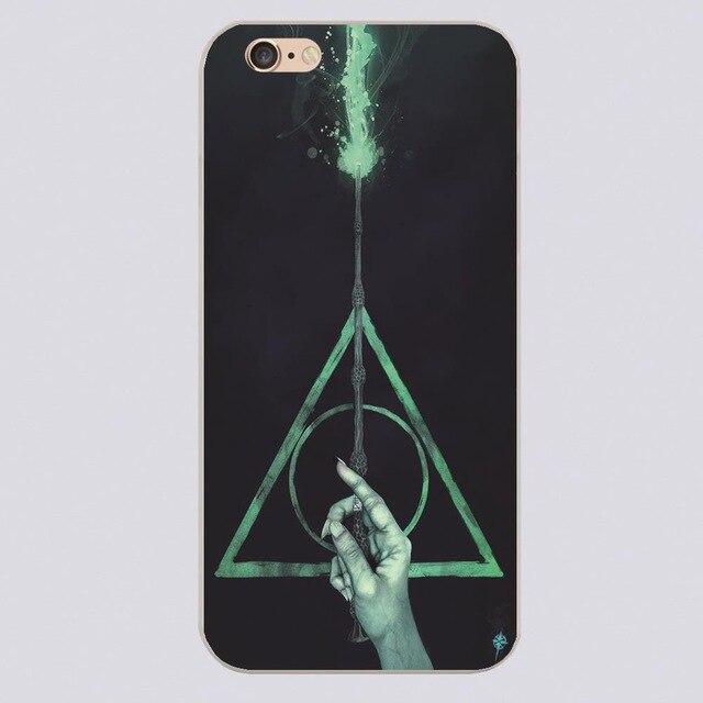 ୧ʕ ʔ୨Гарри Поттер Дары смерти Жесткий <b>Чехол</b> для iPhone 4 ...