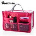 Beaumais 2017 Multifuncional Saco Organizador de Maquiagem Mulheres Estojos de Cosméticos Sacos Das Mulheres Viajar kits de higiene pessoal Sacos Senhoras Bolsas HB004