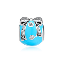 CKK Fits For Pandora Charms Bracelets Bright Ornament Charm 100% 925 Sterling-Silver-Jewelry