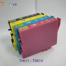 T0611 - T0614 ink cartridge for epson Stylus DX3800 DX4850 D68 D88 DX3850 DX4200 DX4250 DX4800 printer cartridges