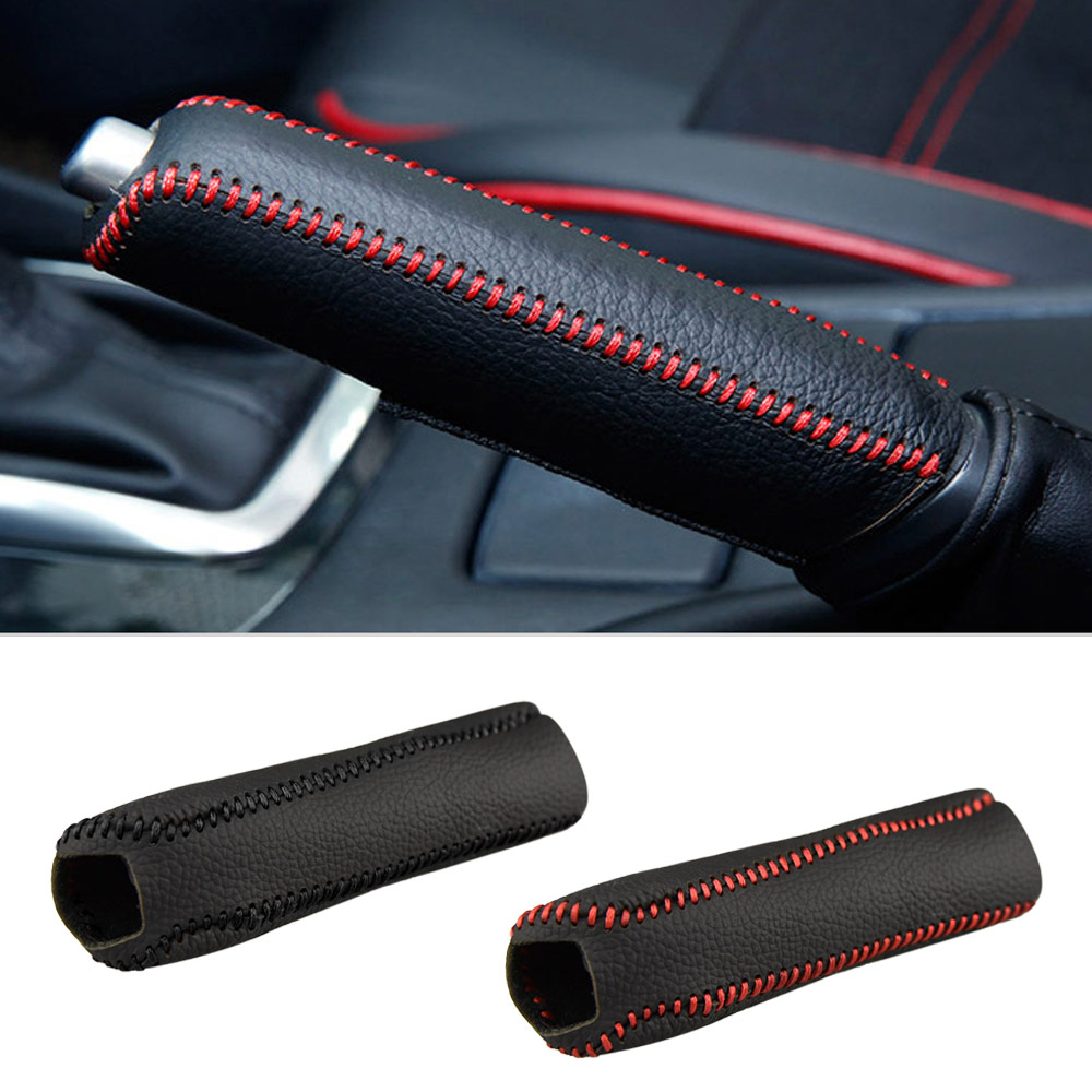 For Kia K2 2011 2012 2013 2014 2015 2016 Car Handbrake Grips Cover Parking Hand Brake Sleeve Protective Case Auto Accessories