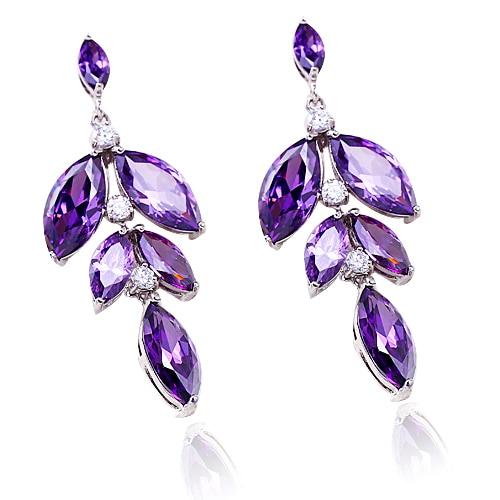 Jewelry Vintage Earrings Statement Hoop Crystal Pearl Fashion Chandelier
