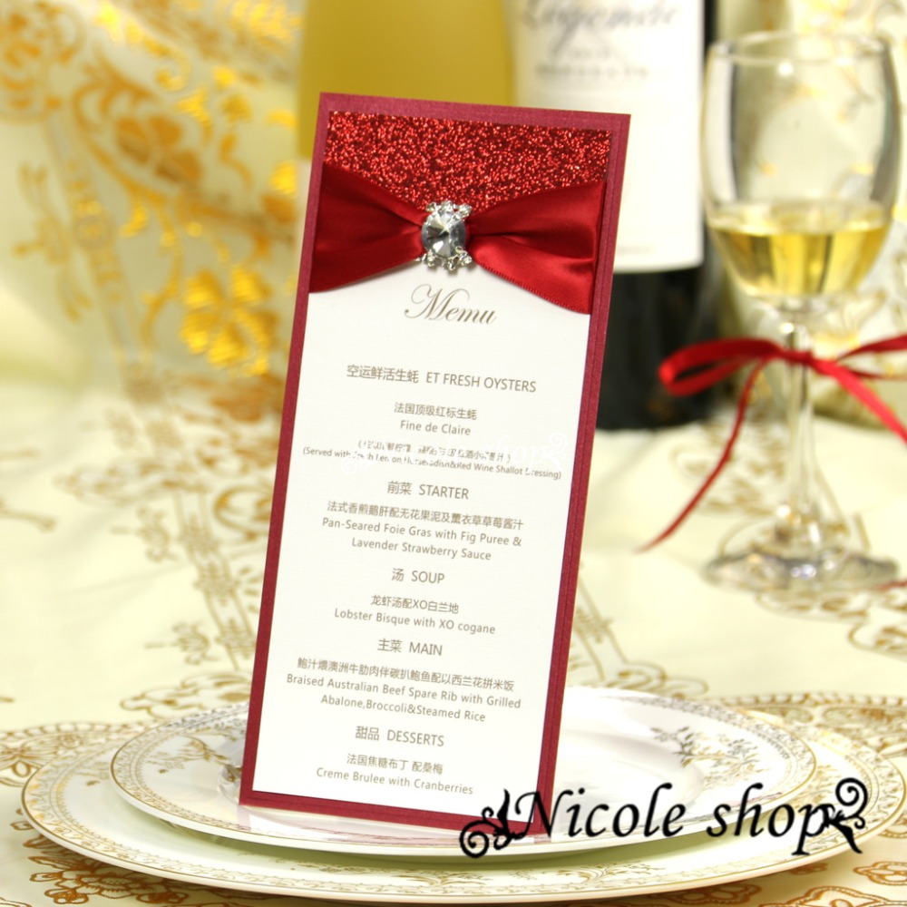 card things picture more detailed picture about table menu card table menu card high end dinner noble evening reception custom wedding invitation card seat supplies