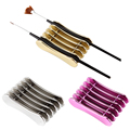 5 Grid Nail Art Penholder Nails Salon Brush Rack Accessory Carving UV Gel Crystal Pen Carrier Storage Manicure Tool Stand Holder