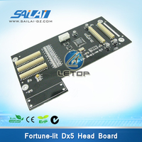 carriage plate fortune lit head board with dx5 printhead