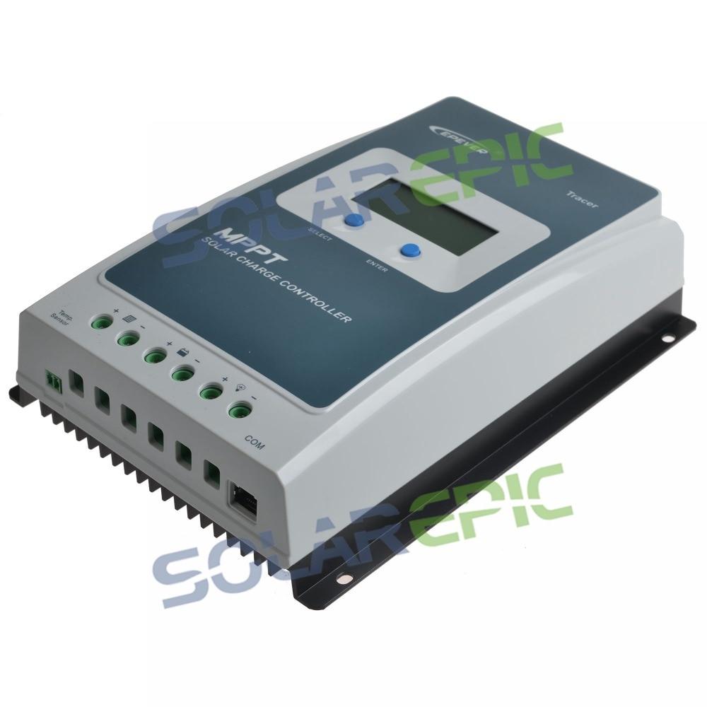 10A 20A Epever MPPT Solar Laderegler 12 V/24 V Tracer EINE Batterie Panel Power Regler Ladegerät Max PV 60 V Solar Controller