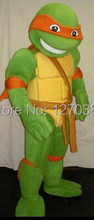 2017 Adult size Turtles mascot Turtles mascot costume free shipping