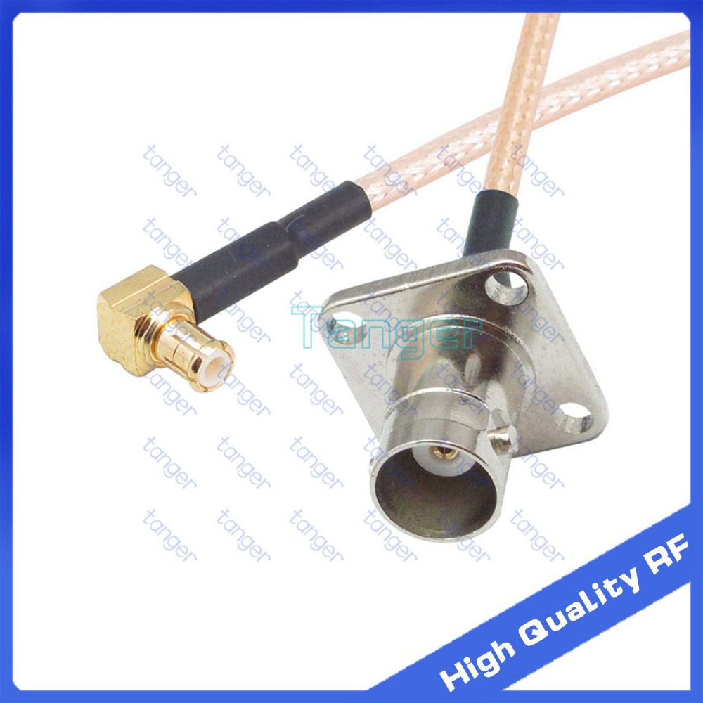 BNC to MCX Male Plug M//M RG316 Coaxial RF Connector Adapter Cable 30cm Quick USA Shipping