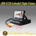 Envío gratis Posterior Del Coche monitor de 4.3 pulgadas TFT De opinión posterior del coche del soporte de seguridad de la cámara con alta resolución y digital panel