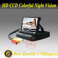 Free shipping Car Rear monitor 4.3inch stand security TFT For car rear view camera with high resolution and digital panel