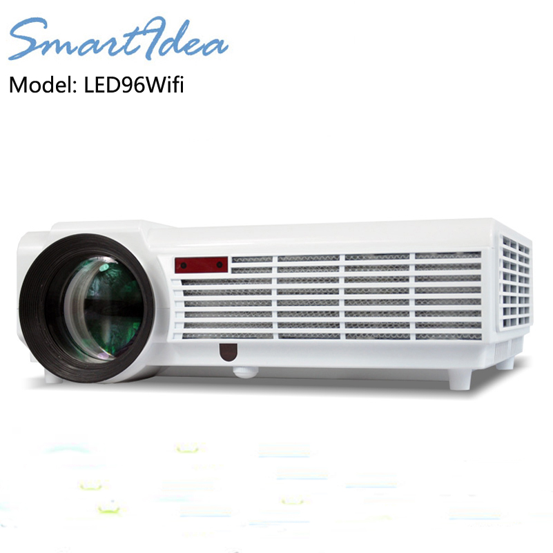 5500 Lumens Smart Lcd Tv Led Projector Full Hd Support: LED96wifi 5500lumens Android 4.4 HD LED Wifi Smart
