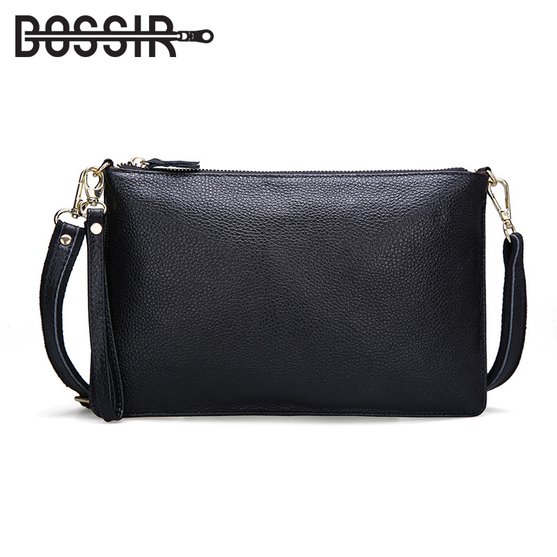 Summer Fashion Women Leather Bag Genuine Leather Messenger Bag Handbag Cowhide Leather Female Crossbody Shoulder Bags Clutch 2017 women bag cowhide genuine leather fashion folding handbag chain shoulder bag crossbody bag handbag party clutch long wallet