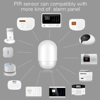 P829 Wireless PIR Motion Detector For Our G18 W1 W2 G19 X1 Alarm System Smart Home