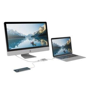 "Image 2 - TUTUO USB 3.1 סוג C ל HDMI מתאם USB HUB 3.0 4 K כבל USB C פ""ד מהיר טעינת נמל עבור MacBook החדש 12 ""/Chromebook Pixe וכו ."